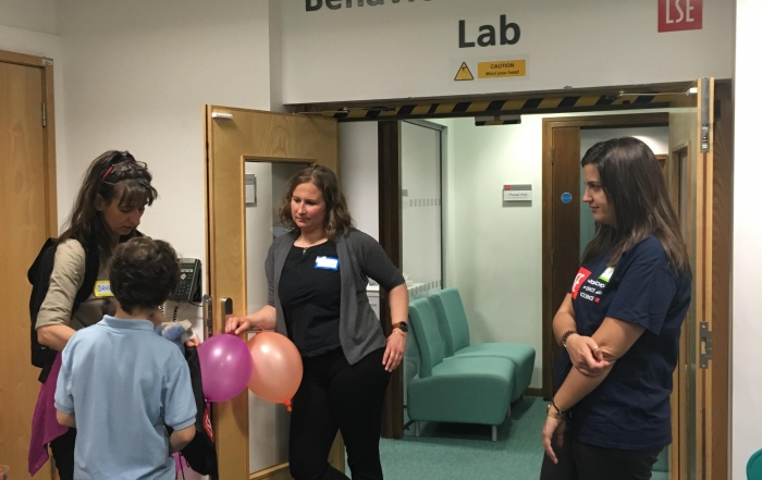 Bringing Young People Into the LSE Behavioural Research Lab: BRL-Junior Research Day