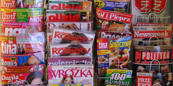 Polish magazines. Photo: Andreas Lischka via a Flickr Creative Commons licence