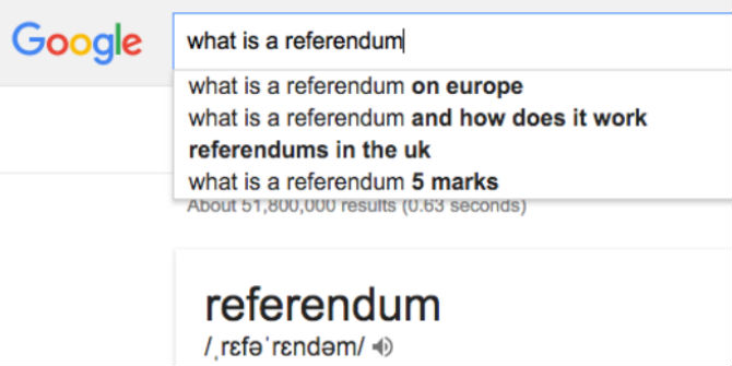 google what is a referendum