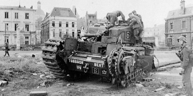 canadian tank dieppe germans