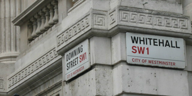 Downing_Street-Whitehall_-_geograph