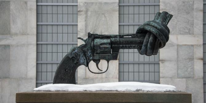 united nations gun