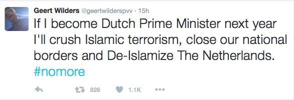 GeertWilders_tweet