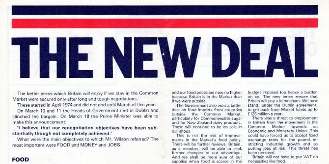 1975 leaflet