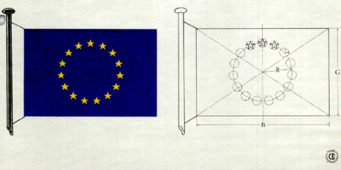 council of europe flag design