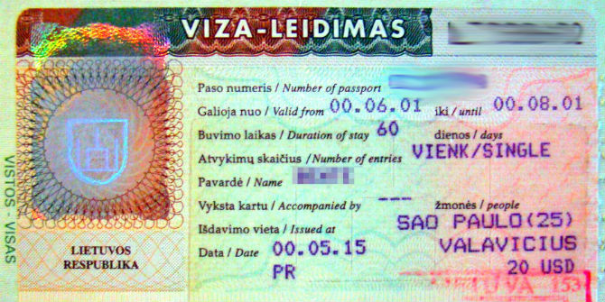 lithuanian visa