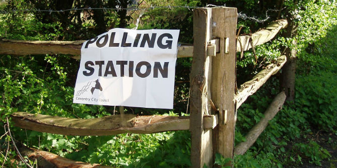polling station countryside