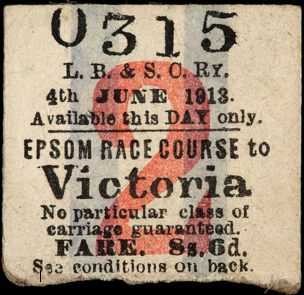 emily davison ticket