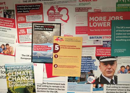 LSE referendum ephemera