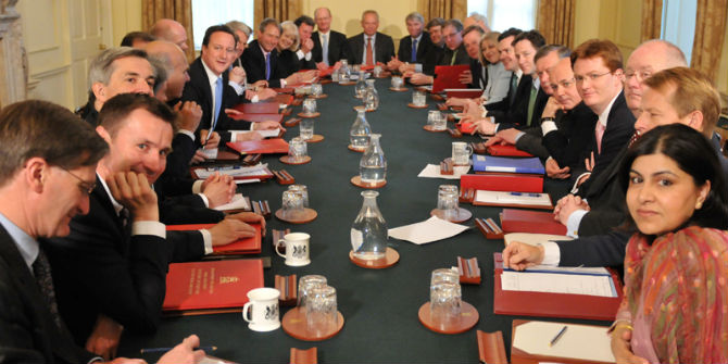 david cameron cabinet coalition