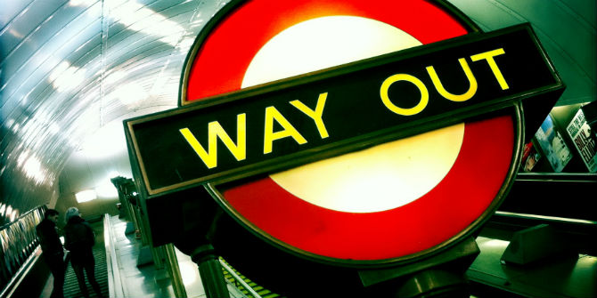 way out tube