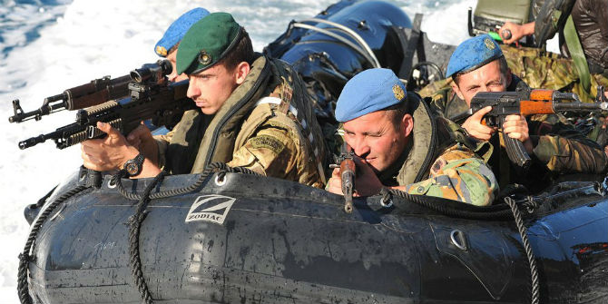royal marine commandos nato