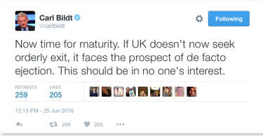 carl bildt tweet