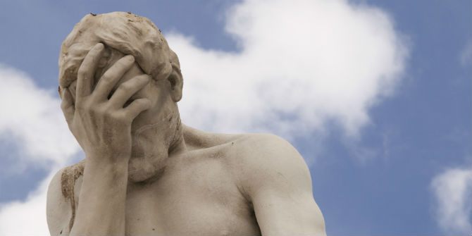 denial statue