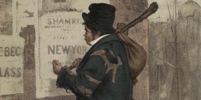 irishman emigration new world