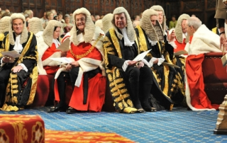 judges state opening parliament