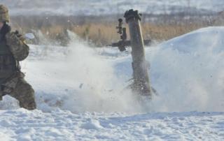 mortar training ukraine