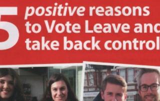 vote leave leaflet