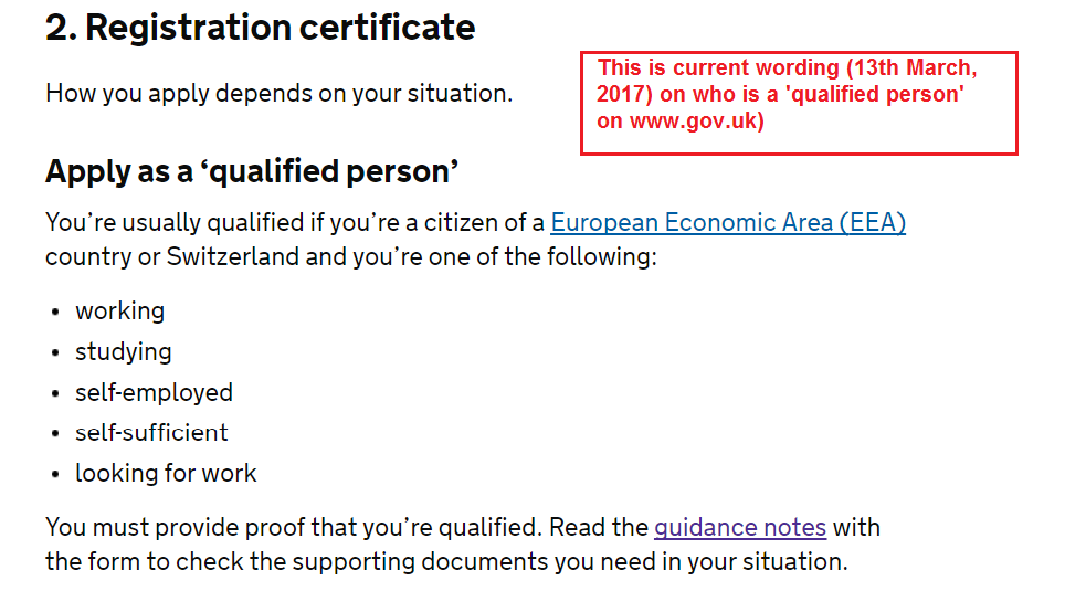 Lse brexit the scandal of csi the little known loophole used to at least up until the time of writing 13 march 2017 the uk government website used the following description for a qualified person who could apply for ccuart Choice Image