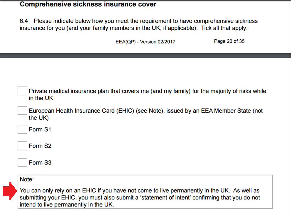 Comprehensive Sickness Insurance – the legal loophole you have ... 1a2d9103b