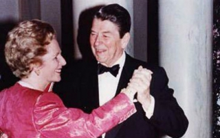 margaret thatcher ronald reagan