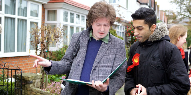 Labour canvassers
