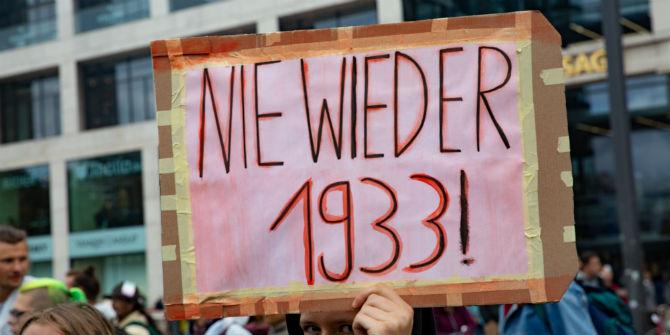 nie wieder 1933