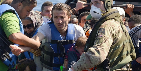 The European ideal has sunk to the bottom of the Mediterranean with the migrants it rejects