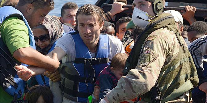 migrants navy