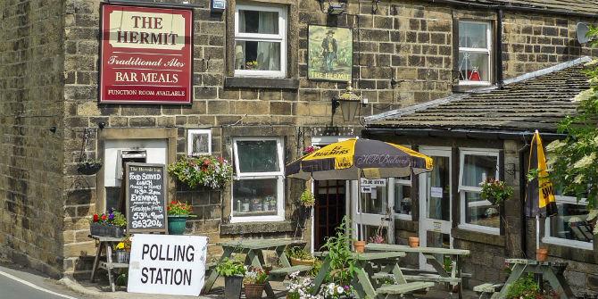 polling station pub