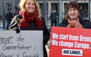berlin anti-austerity demo