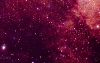 red nebulosity stars