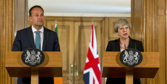 May said nothing new that was positive regarding the Irish dimension of Brexit