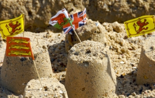 sandcastle flags