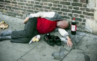 rough sleeper london