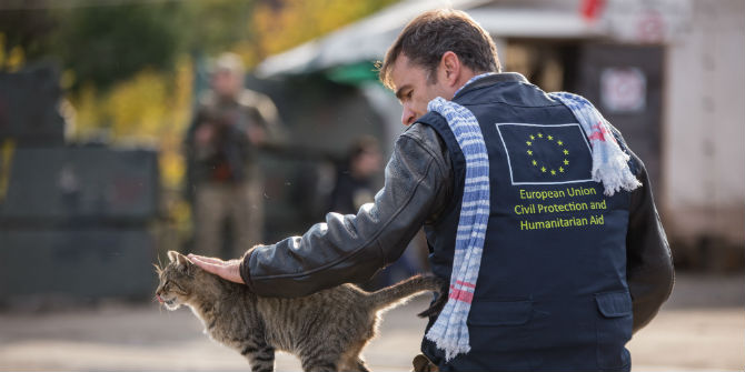 eu aid worker ukraine