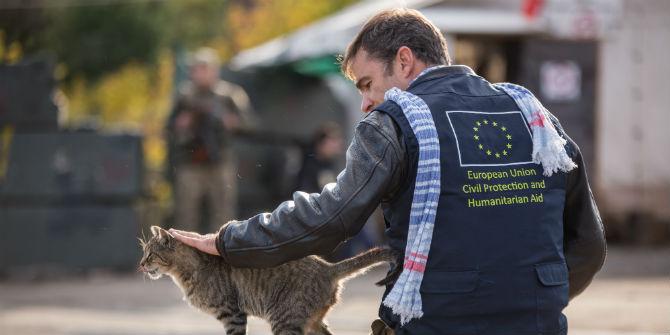 eu aid worker ukraine