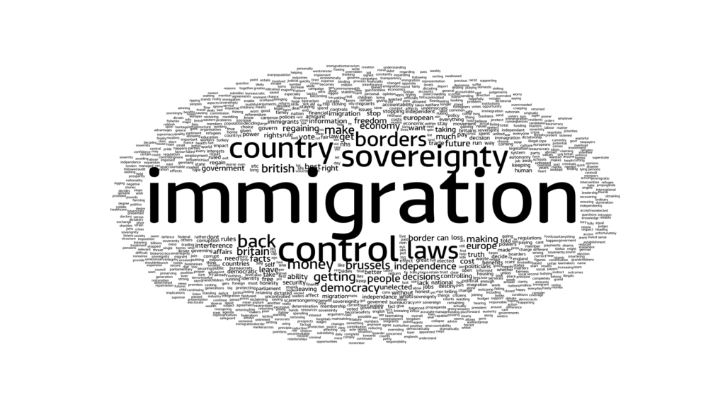 leave word cloud immigration