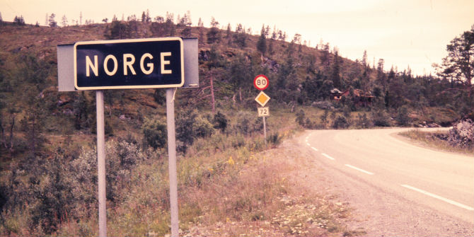 norwegian border