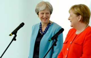 theresa may angela merkel