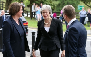 northern ireland arlene foster theresa may