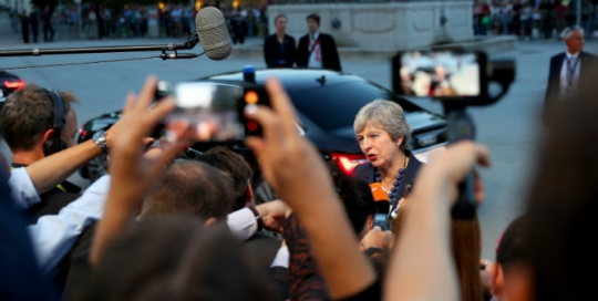 May's Brexit luck ran out at Westminster this autumn