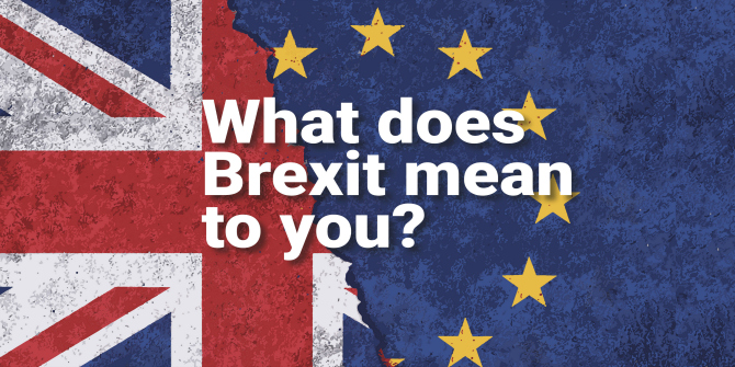 'What does Brexit mean to you?' Introducing 5 key items from LSE Library's current exhibition (until 14 December 2018)