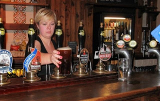 Pint in a pub