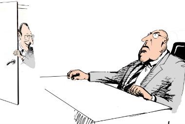 boss cartoon