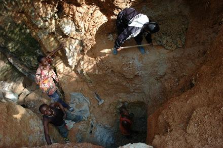 African mine