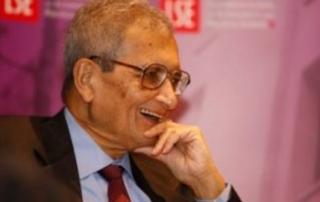 Amartya Sen speaking