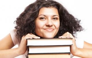 bookish student