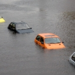 flooded cars climate changes