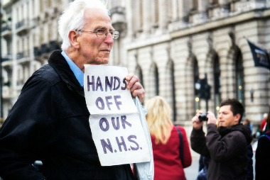 hands off NHS